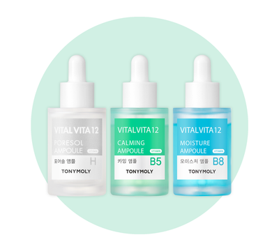 Skin Soothing Ampoule Set