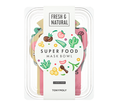 SuperFood Bowl Mask Set
