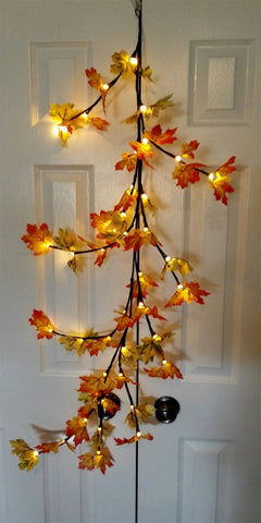 branch lights maple leaves - IDEC Sense