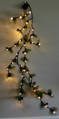 branch lights pinecone - IDEC Sense