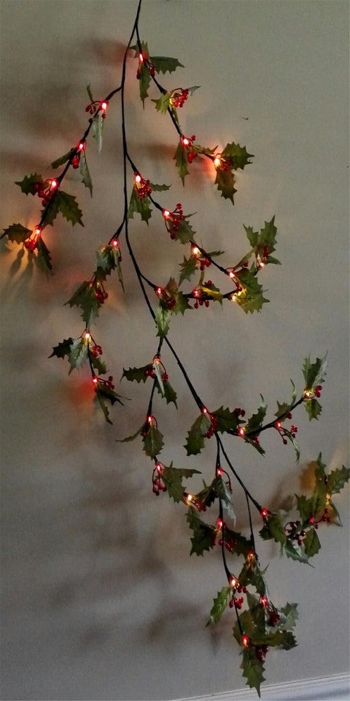 branch lights red berries - IDEC Sense
