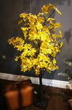 Lighted maple tree with yellow leaves - IDEC Sense