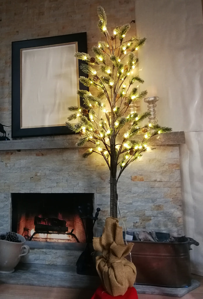 Christmas pine tree lights  size L - IDEC Sense