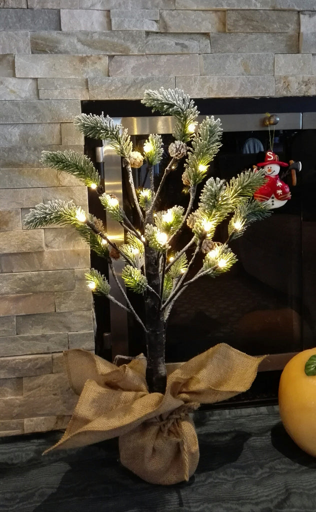 Christmas pine tree lights size S - IDEC Sense