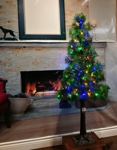 Christmas Tree with colorful LED lights  H: 4 Feet - IDEC Sense