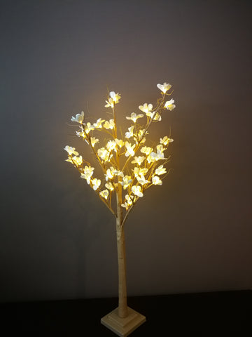 White cherry blossom tree lights - IDEC Sense