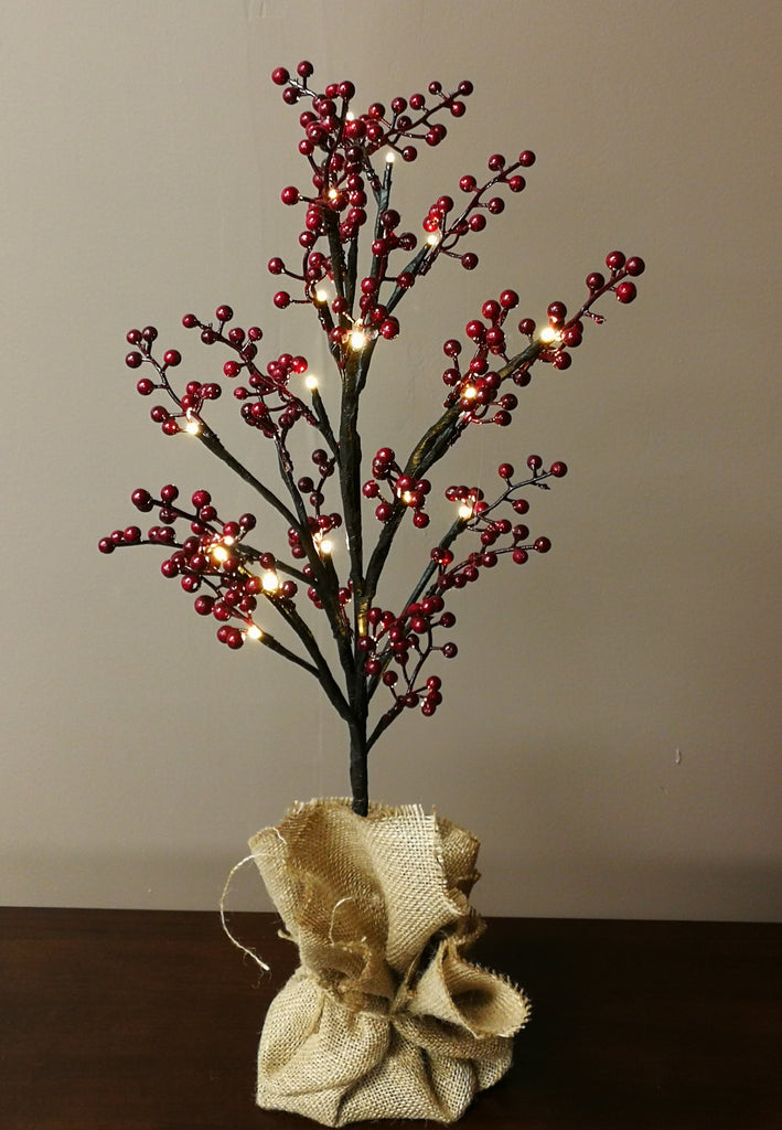 Decorative Mini LED Tree - Holly - IDEC Sense