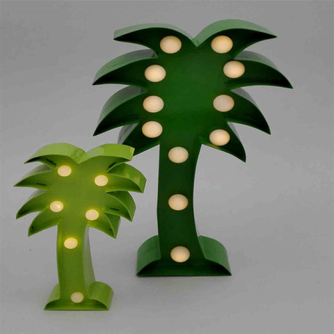Metal frame Tropic Tree Green L - IDEC Sense