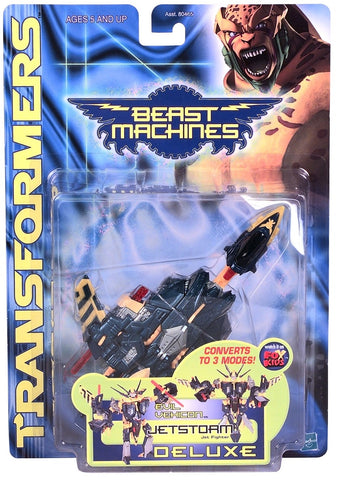 TRANSFORMERS BEAST MACHINES JETSTORM DELUXE