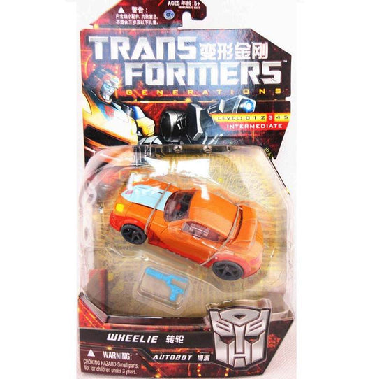 TRANSFORMERS GENERATIONS DELUXE CLASS WHEELIE