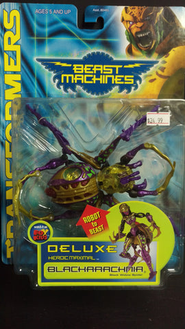 TRANSFORMERS BEAST MACHINES BLACKARACHNIA
