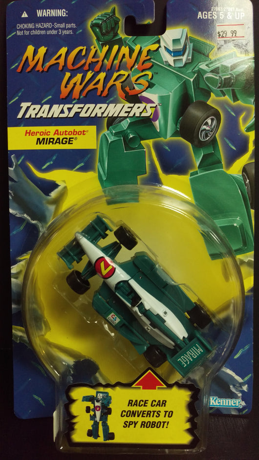 TRANSFORMERS MACHINE WARS MIRAGE