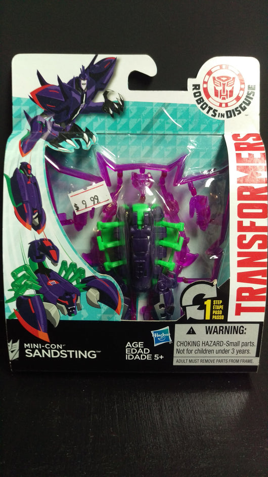 TRANSFORMERS ROBOTS IN DISGUISE SANDSTING