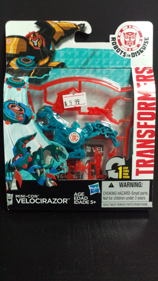 TRANSFORMERS ROBOTS IN DISGUISE MINI-CON VELOCIRAZOR