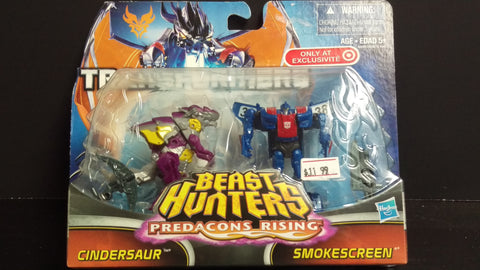 TRANSFORMERS CINDERSAUR AND SMOKESCREEN