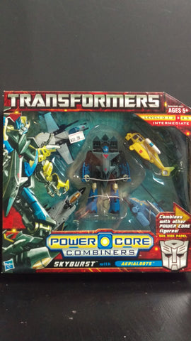 TRANSFORMERS GENERATIONS SKYBURST WITH AERIALBOTS