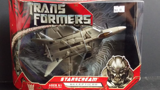 TRANSFORMERS THE MOVIE STARSCREAM