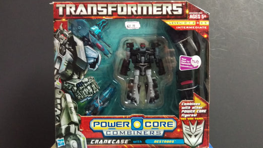 TRANSFORMERS POWER CORE  CRANKCASE WITH DESTRONS