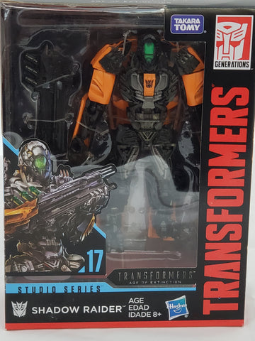 TRANSFORMERS SHADOW RAIDER DELUXE CLASS