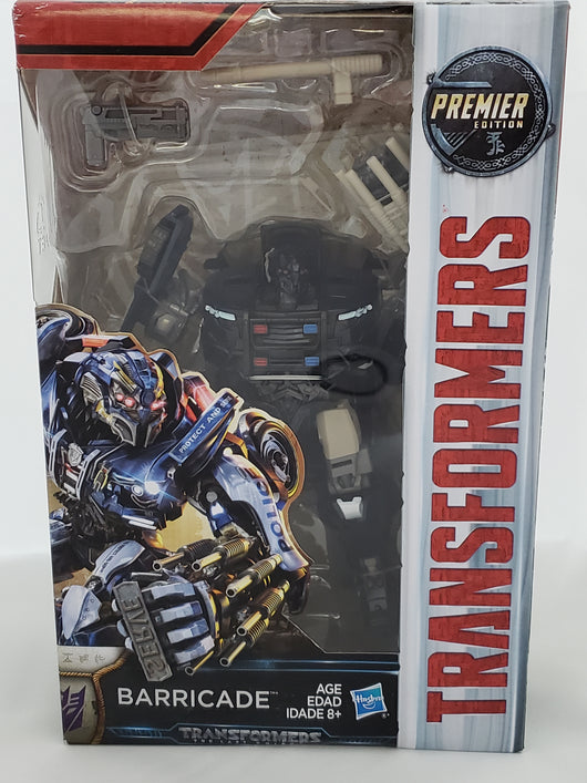 TRANSFORMERS THE LAST KNIGHT BARRICADE DELUXE CLASS