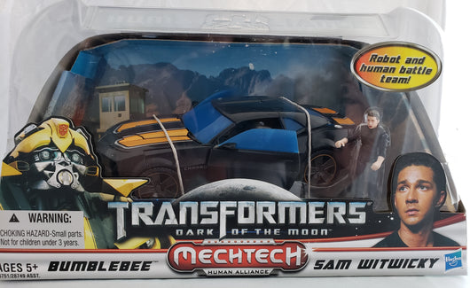 TRANSFORMERS DOTM BUMBLEBEE AND SAM WITWICKY