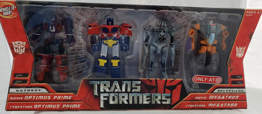 TRANSFORMERS LEGENDS CLASS MOVIE OPTIMUS AND MEGATRON