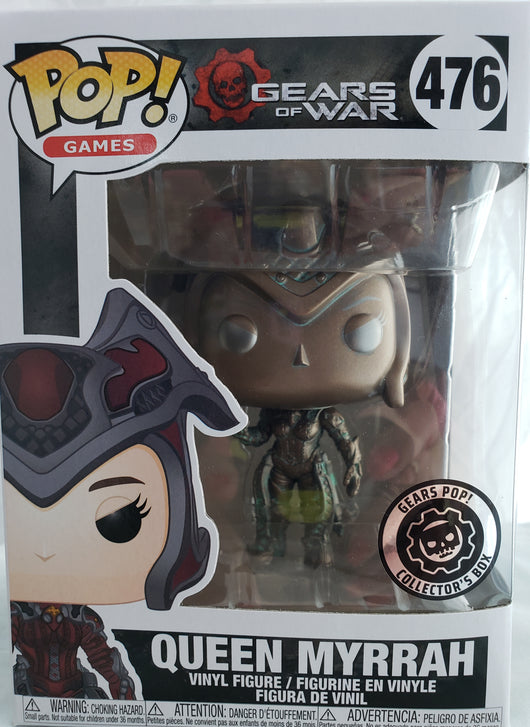 FUNKO POP GEARS OF WAR QUEEN MYRRAH #476