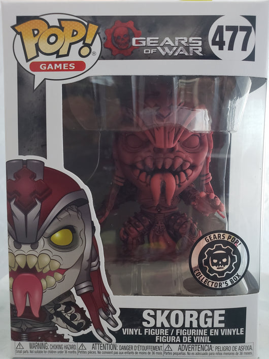 FUNKO POP SKORGE #477 IN RED