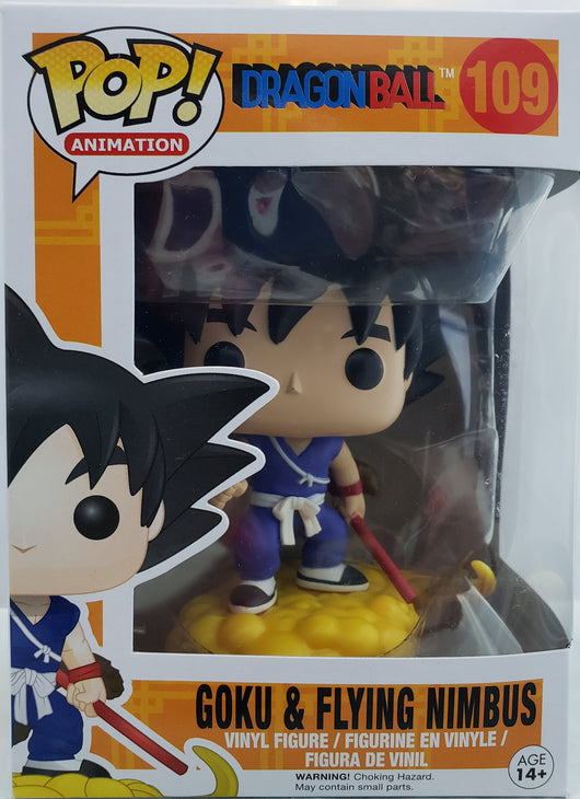 FUNKO POP DRAGON BALL GOKU & FLYING NIMBUS #109