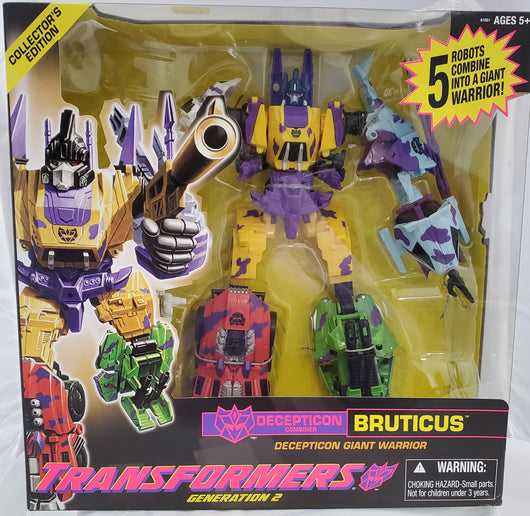 TRANSFORMERS GENERATION 2 BRUTICUS