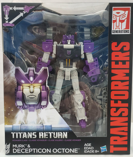 TRANSFORMERS TITANS RETURN MURK & OCTONE