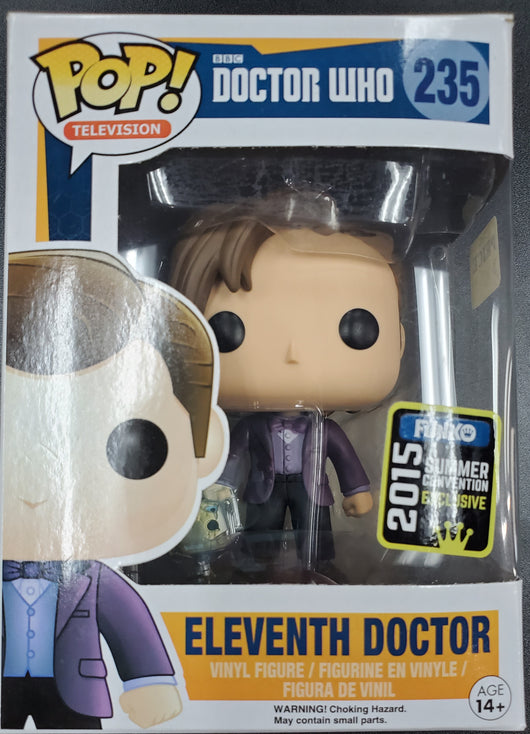 FUNKO POP ELEVENTH DOCTOR #235
