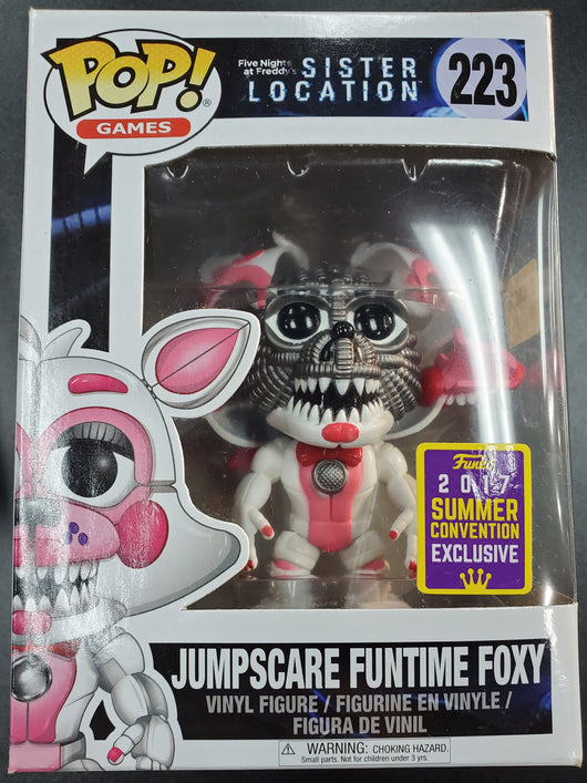 FUNKO POP JUMPSCARE FUNTIME FOXY #223