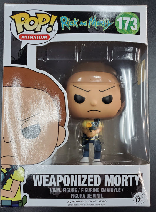 FUNKO POP WEAPONIZED MORTY #173