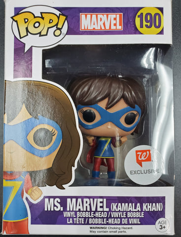 FUNKO POP MS. MARVEL #190