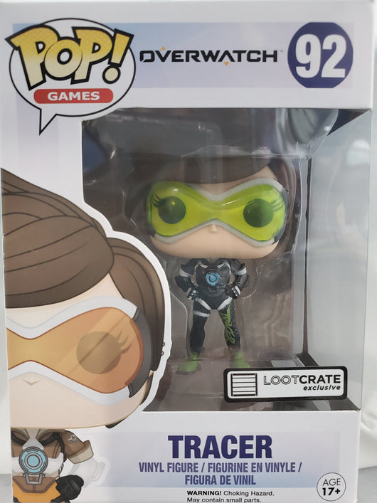 FUNKO TRACER GAMES #92 LOOTCRATE EXCLUSIVE