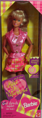 Barbie Make a Valentine