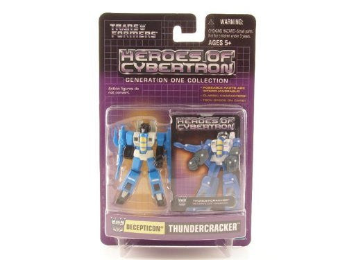 TRANSFORMERS HEROES OF CYBERTRON THUNDERCRACKER