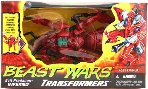 TRANSFORMERS BEAST WARS INFERNO