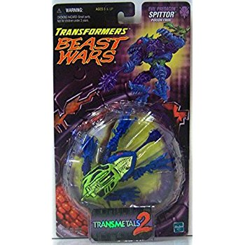 TRANSFORMERS BEAST WARS SPITTOR