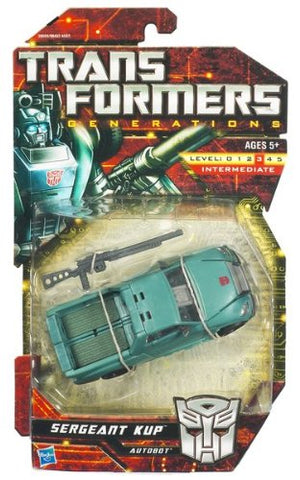 TRANSFORMERS GENERATIONS DELUXE CLASS SERGEANT KUP