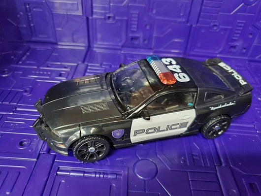 TRANSFORMERS THE MOVIE DELUXE CLASS ALLSPARK POWER BARRICADE
