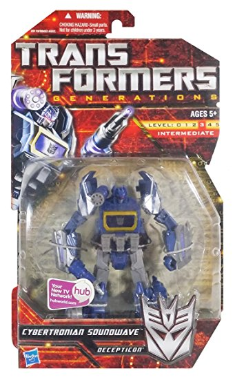 TRANSFORMERS GENERATIONS SOUNDWAVE