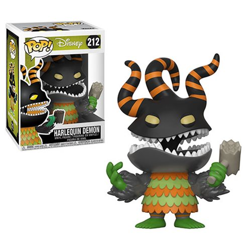 FUNKO POP NIGHTMARE BEFORE CHRISTMAS HARLEQUIN DEMON VINYL FIGURE #212