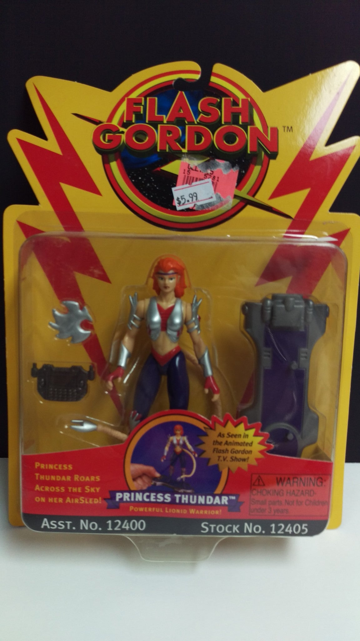 FLASH GORDON PRINCESS THUNDER