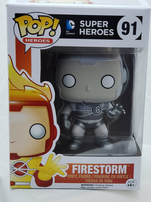 FUNKO POP WHITE LANTERN FIRESTORM #91