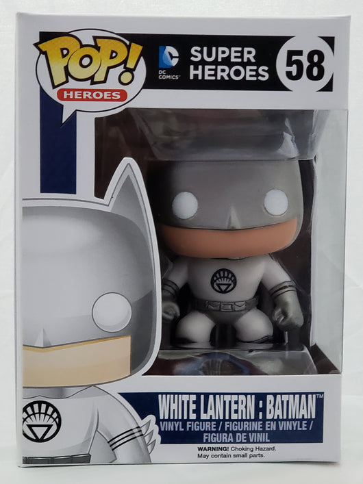 FUNKO POP WHITE LANTERN BATMAN #58