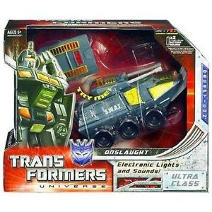 TRANSFORMERS UNIVERSE ONSLAUGHT ULTRA CLASS