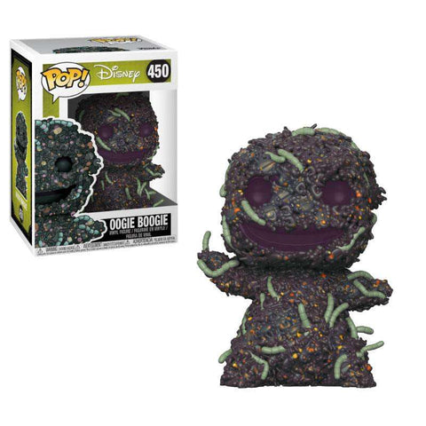 FUNKO POP MIGHTMARE BEFORE CHRISTMAS OOGIE BOOGIE BUGS VINYL FIGURE #450