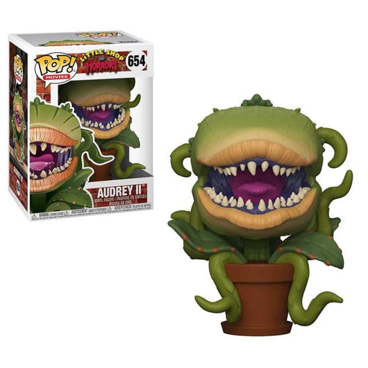 FUNKO LITTLE SHOP OF HORRORS AUDREY ll VINYL FIGURE #654